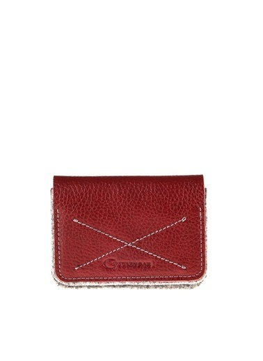 Cotton Bar Clutch / El Çantası Gri